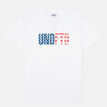 Undefeated Never Back Down Men's T-shirt White photo- 0