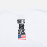 Мужская футболка Undefeated Never Back Down White фото- 4