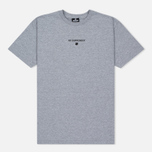 Мужская футболка Undefeated No Surrender Grey Heather фото- 0