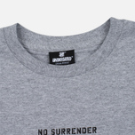 Мужская футболка Undefeated No Surrender Grey Heather фото- 1
