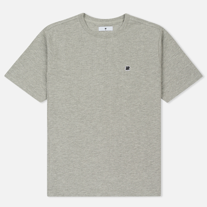 Мужская футболка Undefeated Panel Slub Crew Grey Heather