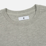 Мужская футболка Undefeated Panel Slub Crew Grey Heather фото- 1