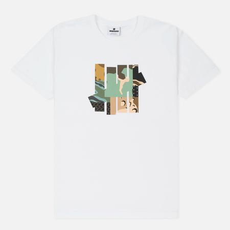 Мужская футболка Undefeated Patchwork Strike White