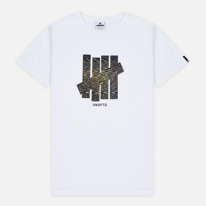 Мужская футболка Undefeated Static Strike White