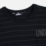 Мужская футболка Undefeated Stripe Pocket SS Black фото- 1
