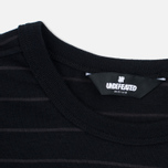 Мужская футболка Undefeated Stripe Pocket SS Black фото- 2
