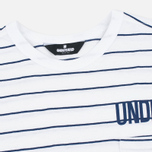 Мужская футболка Undefeated Stripe Pocket SS White фото- 1