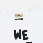 Мужская футболка Uniformes Generale Alive And Well Tee Vintage White фото- 1
