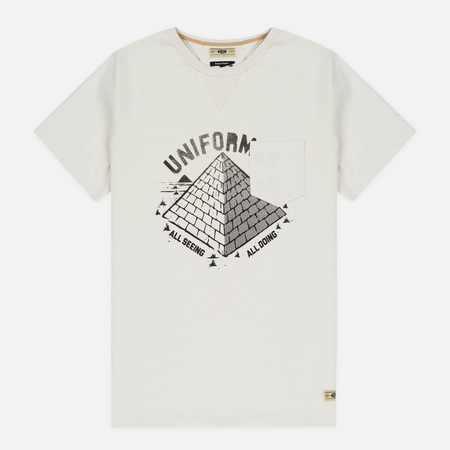 Uniformes Generale All Seeing Pocket Men's T-shirt Off White