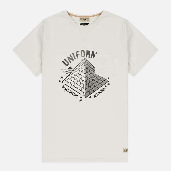 Мужская футболка Uniformes Generale All Seeing Pocket Off White