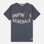 Uniformes Generale Belushi Men's T-shirt Indigo photo- 0