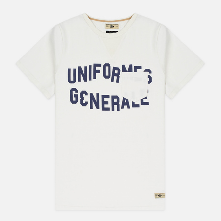 Мужская футболка Uniformes Generale Belushi Off White