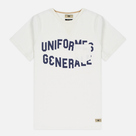 Uniformes Generale Belushi Men's T-shirt Off White