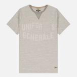 Мужская футболка Uniformes Generale Belushi Tea Grey Melange фото- 0