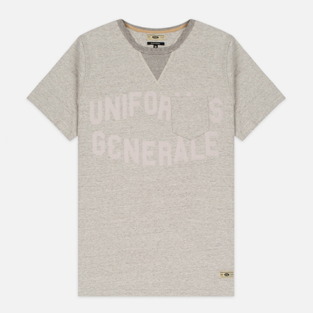 Uniformes Generale Belushi Men's T-shirt Tea Grey Melange