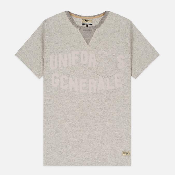 Мужская футболка Uniformes Generale Belushi Tea Grey Melange
