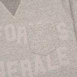 Мужская футболка Uniformes Generale Belushi Tea Grey Melange фото- 3