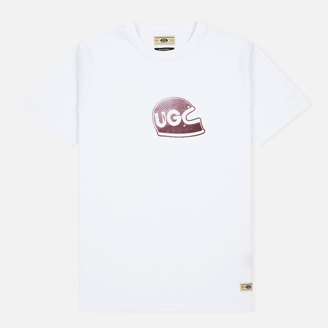 Мужская футболка Uniformes Generale Brain Bucket Tee Vintage White