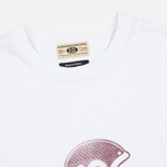 Мужская футболка Uniformes Generale Brain Bucket Tee Vintage White фото- 1