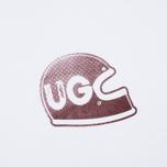 Мужская футболка Uniformes Generale Brain Bucket Tee Vintage White фото- 2