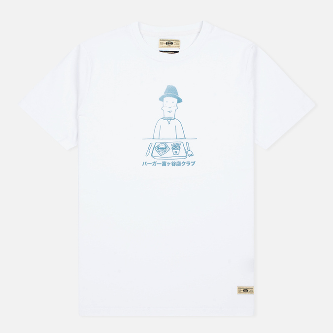 Мужская футболка Uniformes Generale Burger Club Tee Vintage White