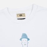 Мужская футболка Uniformes Generale Burger Club Tee Vintage White фото- 1
