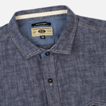 Мужская рубашка Uniformes Generale Chambray Indigo фото- 1