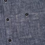 Мужская рубашка Uniformes Generale Chambray Indigo фото- 2
