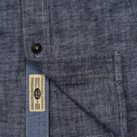 Мужская рубашка Uniformes Generale Chambray Indigo фото- 4
