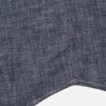 Мужская рубашка Uniformes Generale Chambray Indigo фото- 5