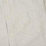 Мужская рубашка Uniformes Generale Daikanyama Button Down Ecru фото- 2