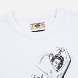 Мужская футболка Uniformes Generale Jusqu'ici Tout Va Bien Tee Vintage White фото- 1