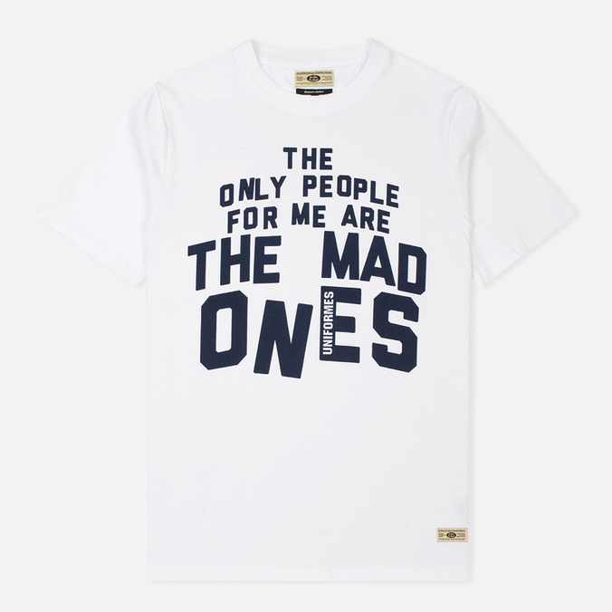 Мужская футболка Uniformes Generale Mad Ones White