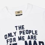 Мужская футболка Uniformes Generale Mad Ones White фото- 1