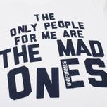 Мужская футболка Uniformes Generale Mad Ones White фото- 2