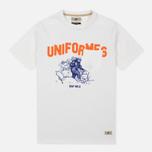 Uniformes Generale Stay Wild College Men's T-shirt Old English White photo- 0