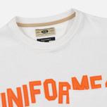 Uniformes Generale Stay Wild College Men's T-shirt Old English White photo- 1