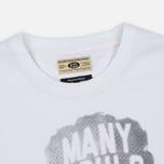 Мужская футболка Uniformes Generale Trampled Souls Vintage White фото- 2