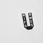 Мужская футболка Uniformes Generale Varsity Intial Old English White фото- 2