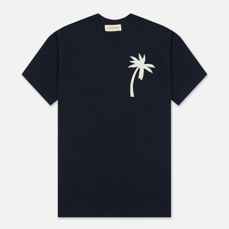 Мужская футболка Universal Works Embroidered Single Jersey Navy