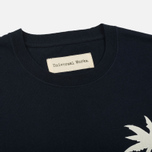Мужская футболка Universal Works Embroidered Single Jersey Navy фото- 1