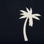 Мужская футболка Universal Works Embroidered Single Jersey Navy фото- 2
