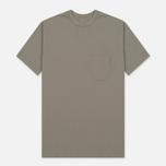 Мужская футболка Universal Works Pocket Jersey Dark Stone фото- 0