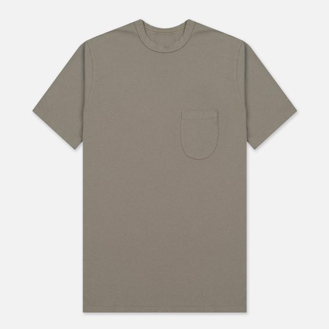 Мужская футболка Universal Works Pocket Jersey Dark Stone