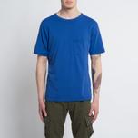 Мужская футболка Universal Works Pocket Jersey Royal Blue фото- 4