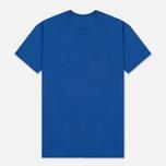 Мужская футболка Universal Works Pocket Jersey Royal Blue фото- 0