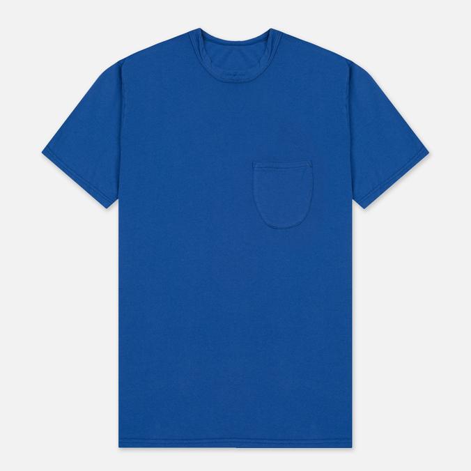 Мужская футболка Universal Works Pocket Jersey Royal Blue