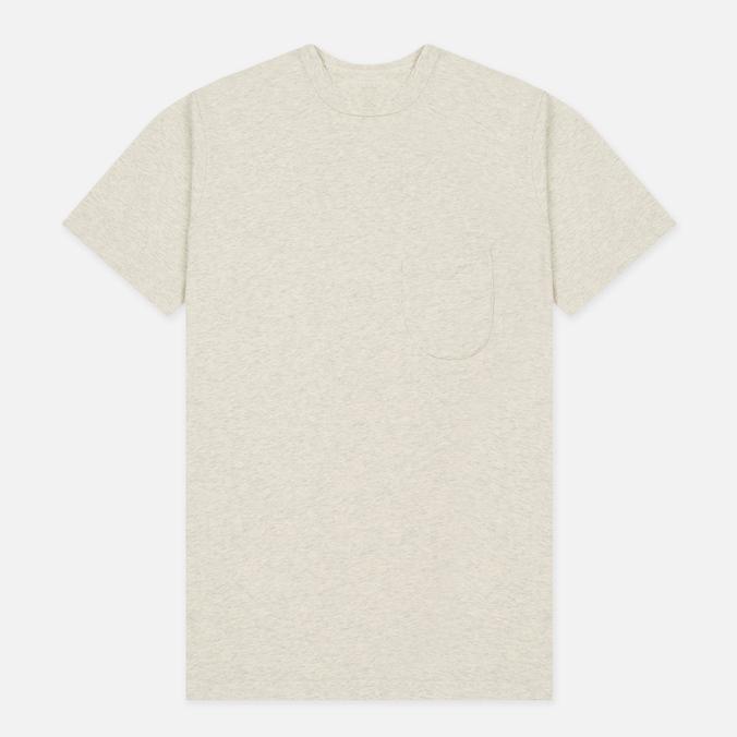 Мужская футболка Universal Works Pocket Jersey Sand Marl