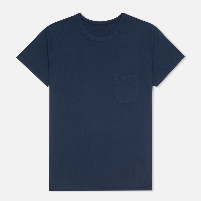 Мужская футболка Universal Works Pocket Navy Jersey