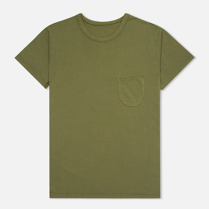 Мужская футболка Universal Works Pocket Olive Jersey